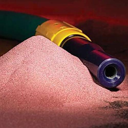 Garnet blasting abrasive
